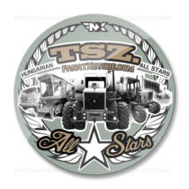 TSZ. All Stars traktoros matrica (70mm | military)