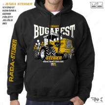 RÁBA STEIGER kapucnis pulóver - BUGAPEST | zsebes | belebújós