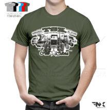 TSZ All Stars traktoros póló (Military)