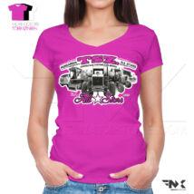 TSZ All Stars traktoros női póló (pink)