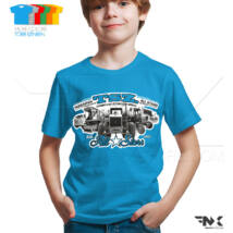 TSZ All Stars traktoros gyerek póló (kék)