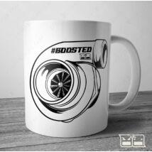 BOOSTED Bögre - turbocharged   300ml FEHÉR