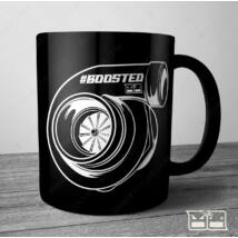 BOOSTED Bögre - turbocharged | 300ml FEKETE