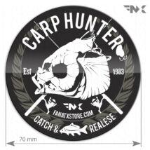 CARP HUNTER horgász matrica - ponty matrica  (70mm)