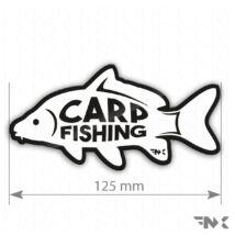 CARP FISHING horgász matrica - ponty matrica  (125mm)
