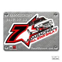 Lada hűtőmágnes Ladaracing All Star Gála 7 | Limitált kiadás