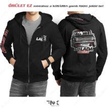 LADA 2101 Autosport - LADA kapucnis pulóver | zsebes | cipzáras