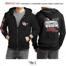 Lada VFTS kapucnis pulóver | zsebes | cipzáras