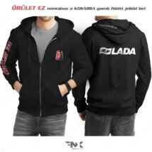 Lada Autosport kapucnis pulóver | zsebes | cipzáras