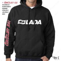 LADA Autosport kapucnis pulóver | zsebes | belebújós