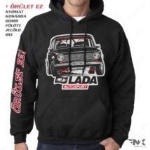 LADA 2101 Autosport - LADA kapucnis pulóver | zsebes | belebújós