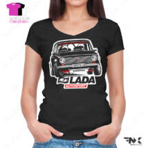 LADA női póló - LADA 2101 Rally - Lada autosport