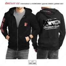 LADA 2107 kapucnis pulóver | zsebes | CIPZÁRAS | ŐRÜLET EZ