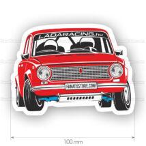 LADA 2101 Rally matrica (10x7cm)