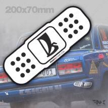 Lada rally matrica sebtapasz drift matrica - NAGY (200x70mm)