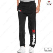 Bemelegítő nadrág - FanatX  (fekete)