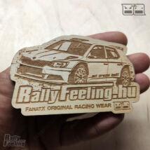 RallyFeeling hűtőmágnes Skoda R5
