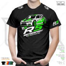Skoda R5 motorsport póló