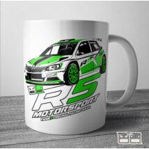 Skoda R5 Motorsport Bögre | 300ml