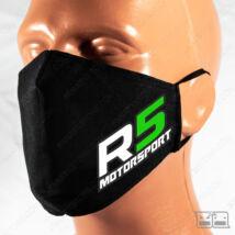 Szájmaszk - R5 Motorsport (fekete)