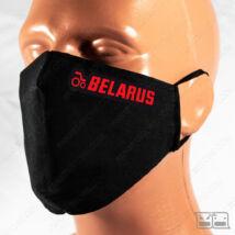 Szájmaszk - BELARUS (fekete)