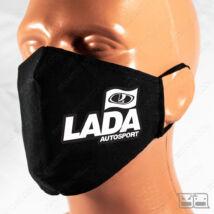 Szájmaszk - LADA Autosport (fekete)