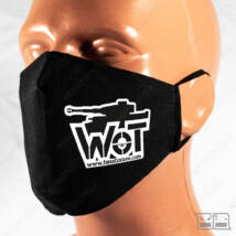 Szájmaszk - WoT standard (fekete)