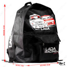 Lada VFTS verseny hátizsák / hátitáska / rucksack (Ladaracing.hu) 15,7L | 40cm - Fekete