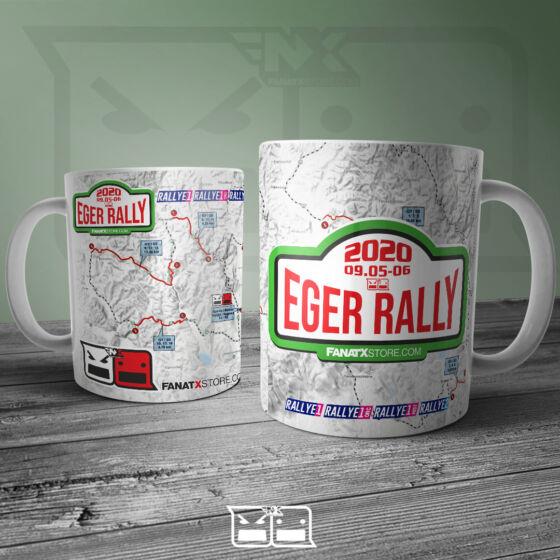 2020 Eger Rally bögre