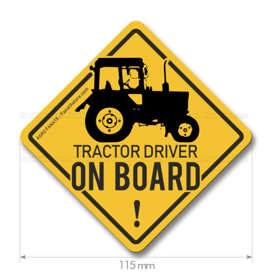 Tractor driver ONBOARD - Traktoros matrica  matrica