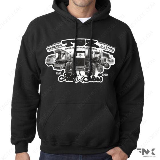 TSZ All Stars traktoros kapucnis pulóver  kapucnis