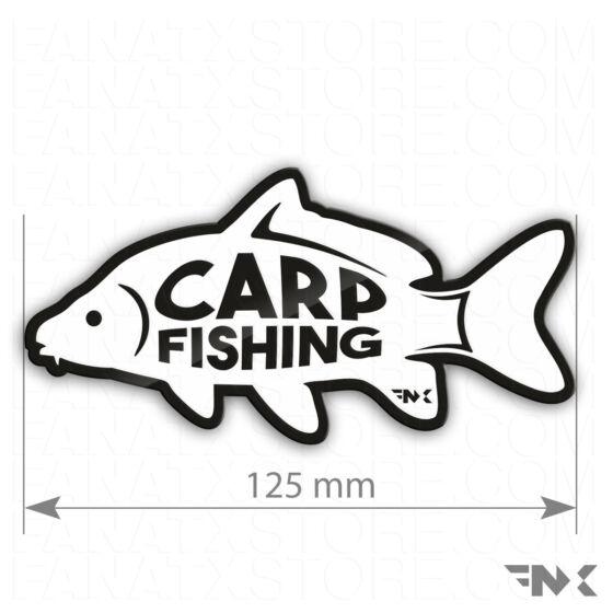 carp fishing horgász matrica