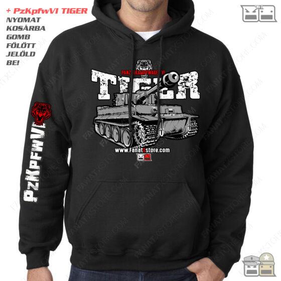 Tankos pulóver kapucnis TIGER 1