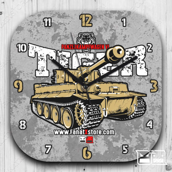 Tiger tank falióra