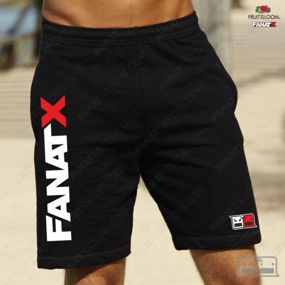 Rövidnadrág fekete FanatX