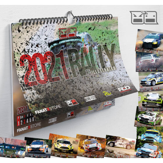 RALLY illustrated naptár 2021